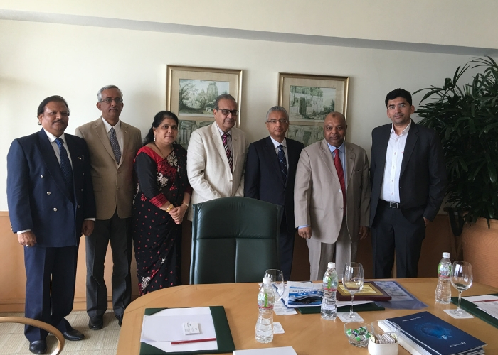 With Mauritius President and IACCI Team