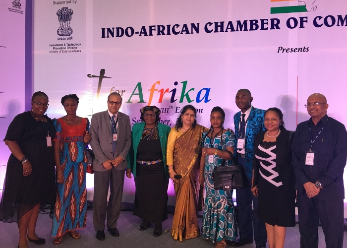 With H.E Madam The bete Ministers African delegates from S.A.